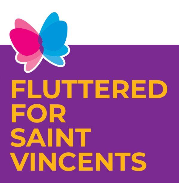 Fluttered for Saint Vincent's